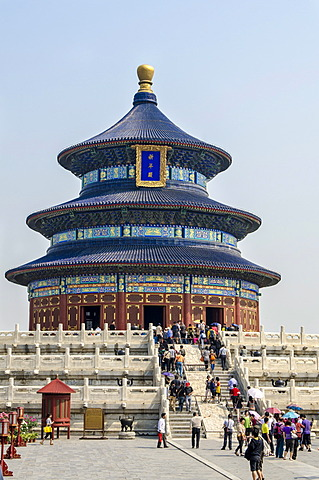 Temple of Heaven, UNESCO World Heritage Site, Beijing, China, Asia