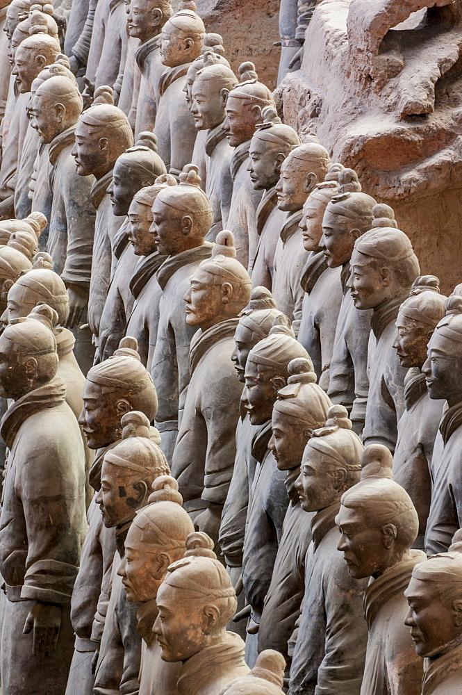 Terracotta Warriors Museum, Xian, Shaanxi, China, Asia