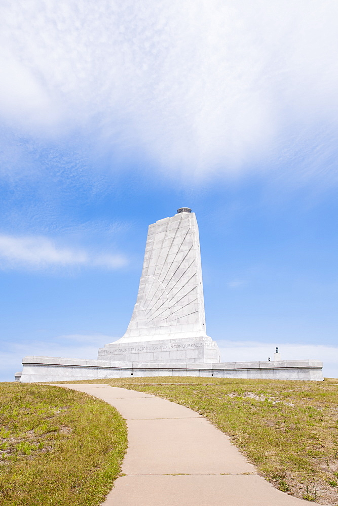Wright Brothers National Memorial, Kill Devil Hills, Kitty Hawk, Outer Banks, North Carolina, United States of America, North America