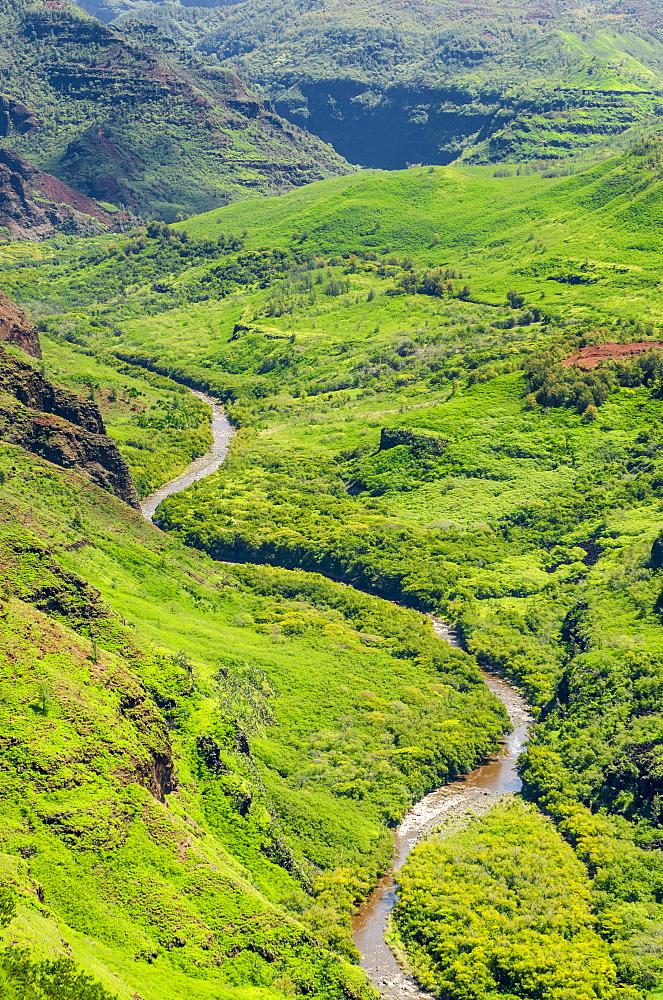 Waimea Canyon State Park, Kauai, Hawaii, United States of America, Pacific