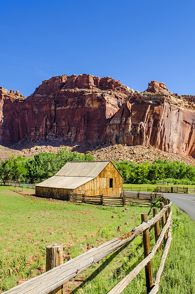 Gifford Farm House, Fruita, Capitol Reef National Park, Utah, United States of America, North America