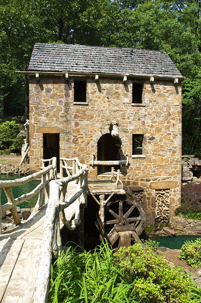 North Little Rock's Old Mill (Pugh's Old Mill), Little Rock, Arkansas, United States of America, North America