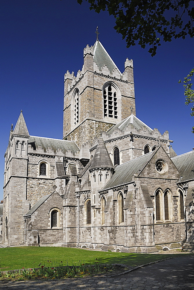 Ireland, County Dublin, Dublin City, Christchurch Cathedral.