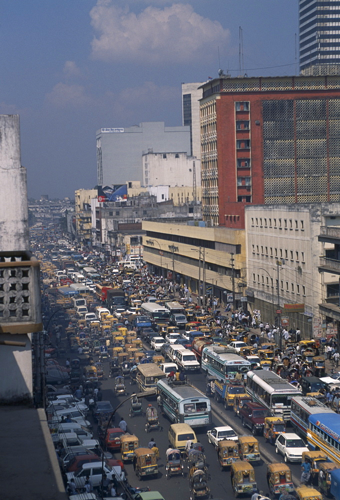 BANGLADESH  Dhaka City centre traffic jam Dacca   congestion Center