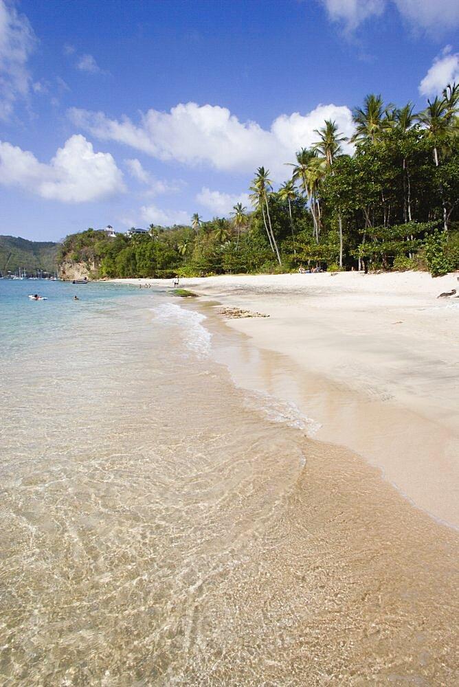 WEST INDIES St Vincent & The Grenadines Bequia Princess Margaret beach