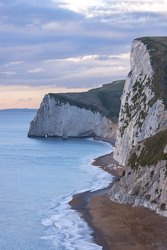 Bat's Head cliff on the Jurassic Coast, UNESCO World Heritage Site, Durdle Door, Dorset, England, United Kingdom, Europe