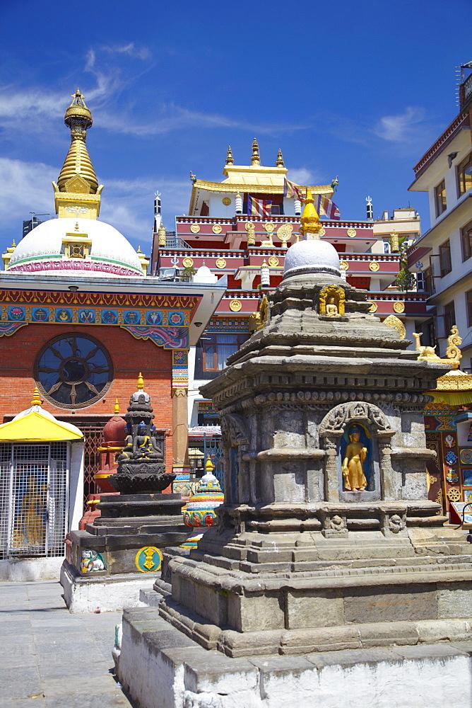 Kathesimbhu Stupa, Kathmandu, Nepal, Asia