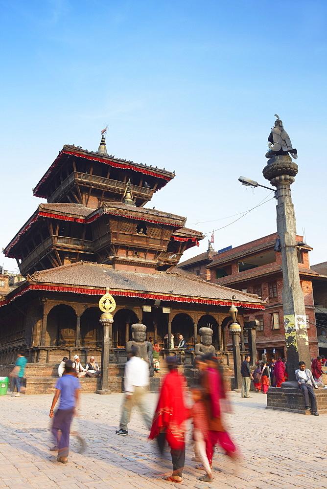 Dattatreya Temple, Tachupal Tole, Bhaktapur, UNESCO World Heritage Site, Kathmandu Valley, Nepal, Asia