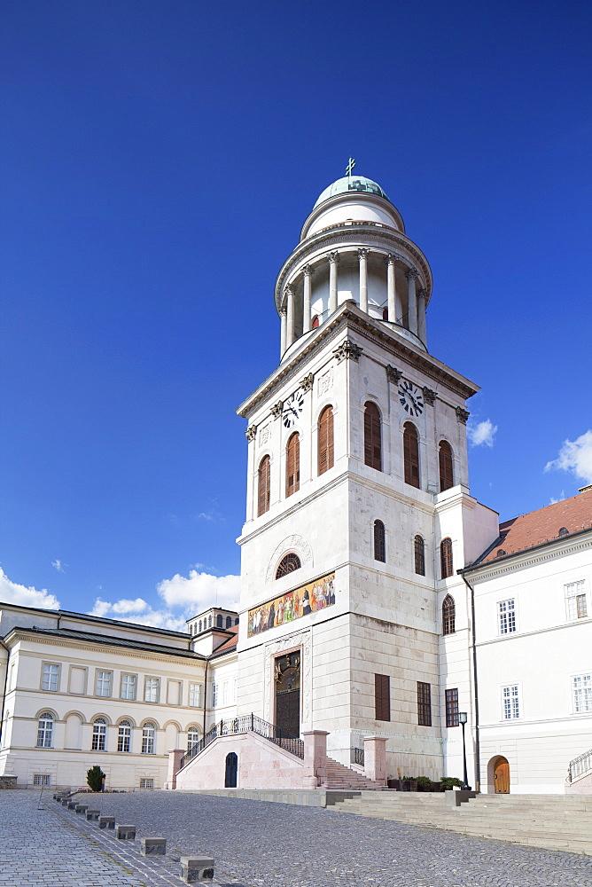 St. Martin's Basilica, Pannonhalma Abbey, UNESCO World Heritage Site, Pannonhalma, Western Transdanubia, Hungary, Europe