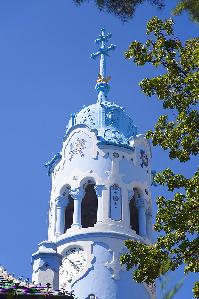 Church of St. Elizabeth (Blue Church), Bratislava, Slovakia, Europe
