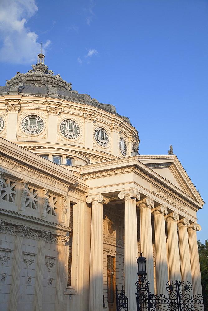 Romanian Athenaeum, Piata Revolutiei, Bucharest, Romania, Europe