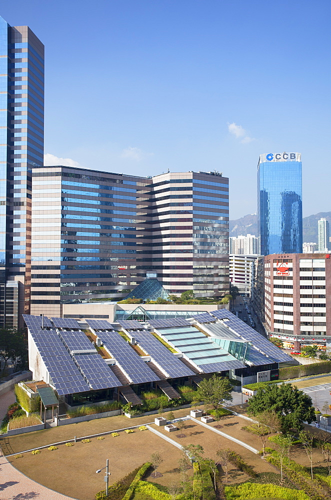 Zero Carbon Building, Kowloon Bay, Kowloon, Hong Kong, China, Asia - 800-2085