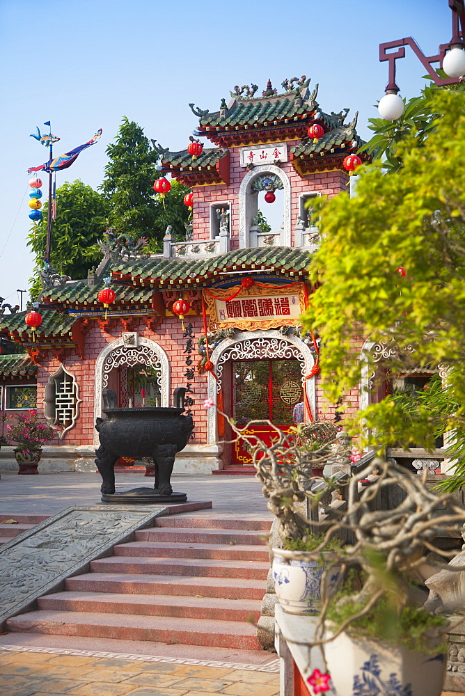 Phouc Kien Assembly Hall, Hoi An, UNESCO World Heritage Site, Quang Nam, Vietnam, Indochina, Southeast Asia, Asia