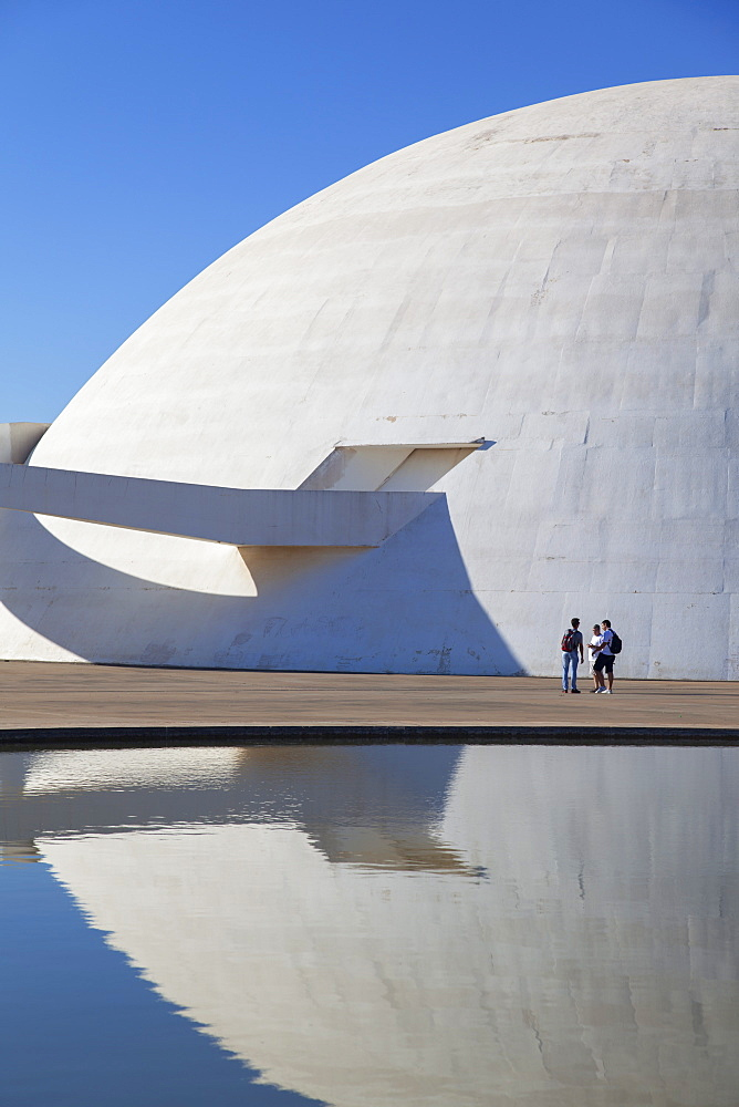 National Museum, UNESCO World Heritage Site, Brasilia, Federal District, Brazil, South America