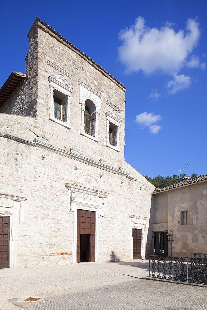 Basilica of San Salvatore, UNESCO World Heritage Site, Spoleto, Umbria, Italy, Europe