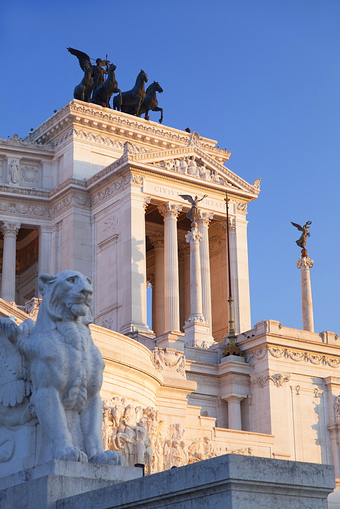 National Monument to Victor Emmanuel II, Rome, Lazio, Italy, Europe
