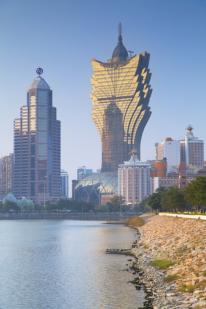 Grand Lisboa Hotel and Casino, Macau, China, Asia