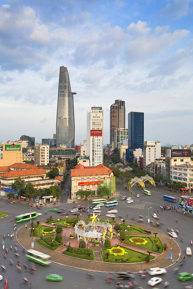 View of Ho Chi Minh City, Vietnam, Indochina, Southeast Asia, Asia
