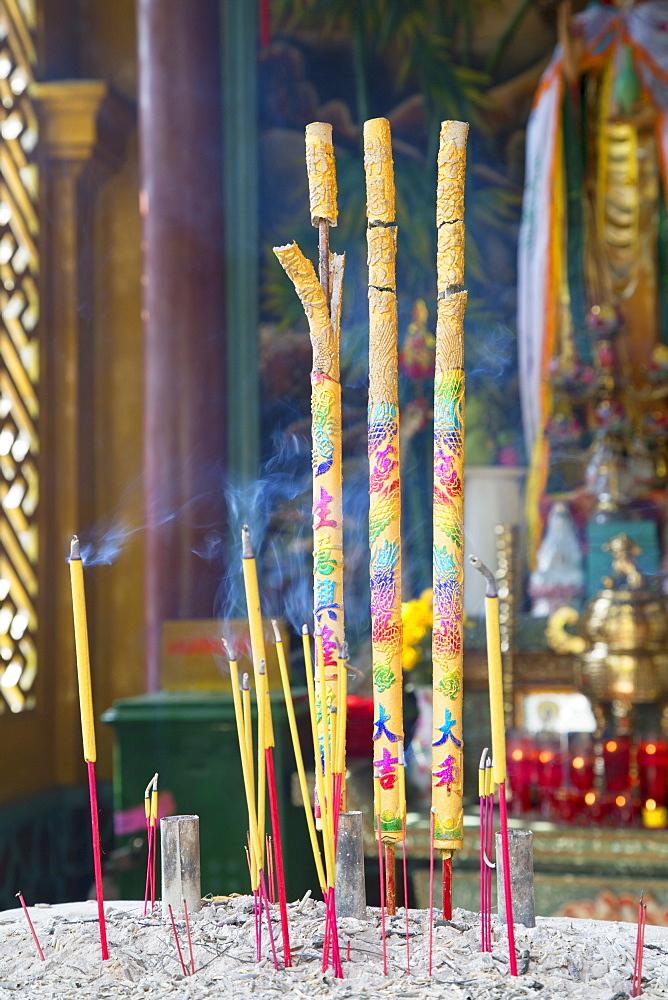 Phuoc An Hoi Quan Pagoda, Cholon, Ho Chi Minh City, Vietnam, Indochina, Southeast Asia, Asia