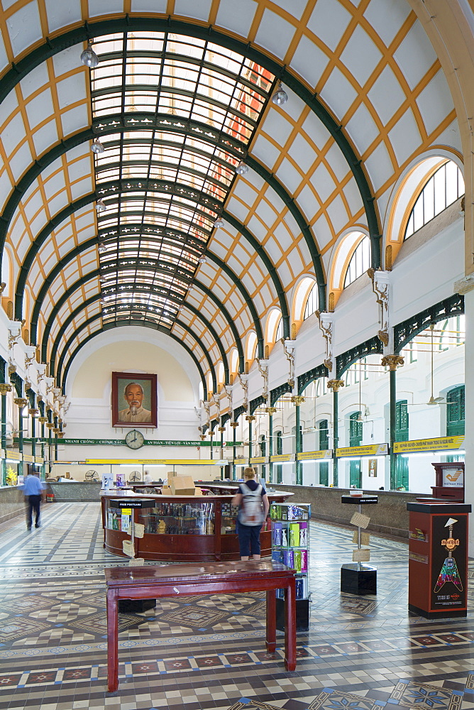 Central Post Office, Ho Chi Minh City, Vietnam, Indochina, Southeast Asia, Asia