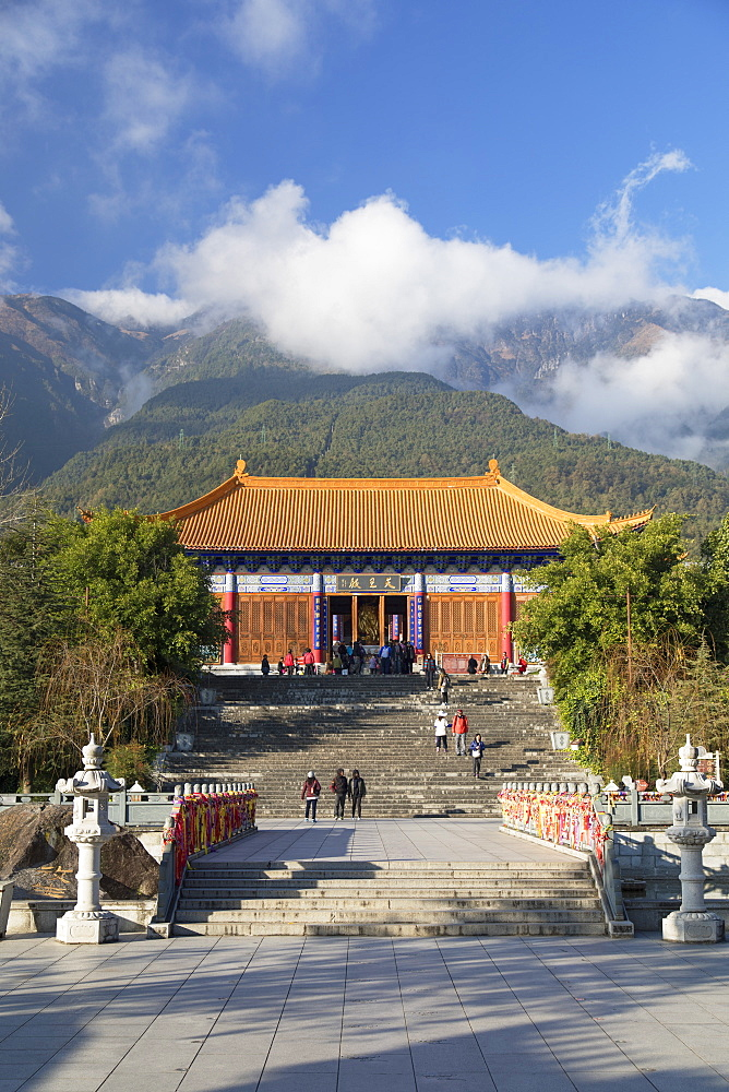 Chongsheng Temple, Dali, Yunnan, China, Asia - 800-3022