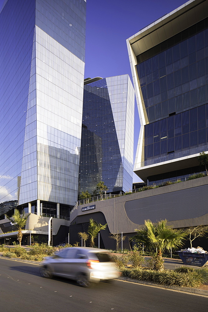 Bowman Gilfillan and Marsh buildings in Alice Lane Complex, Sandton, Johannesburg, Gauteng, South Africa, Africa