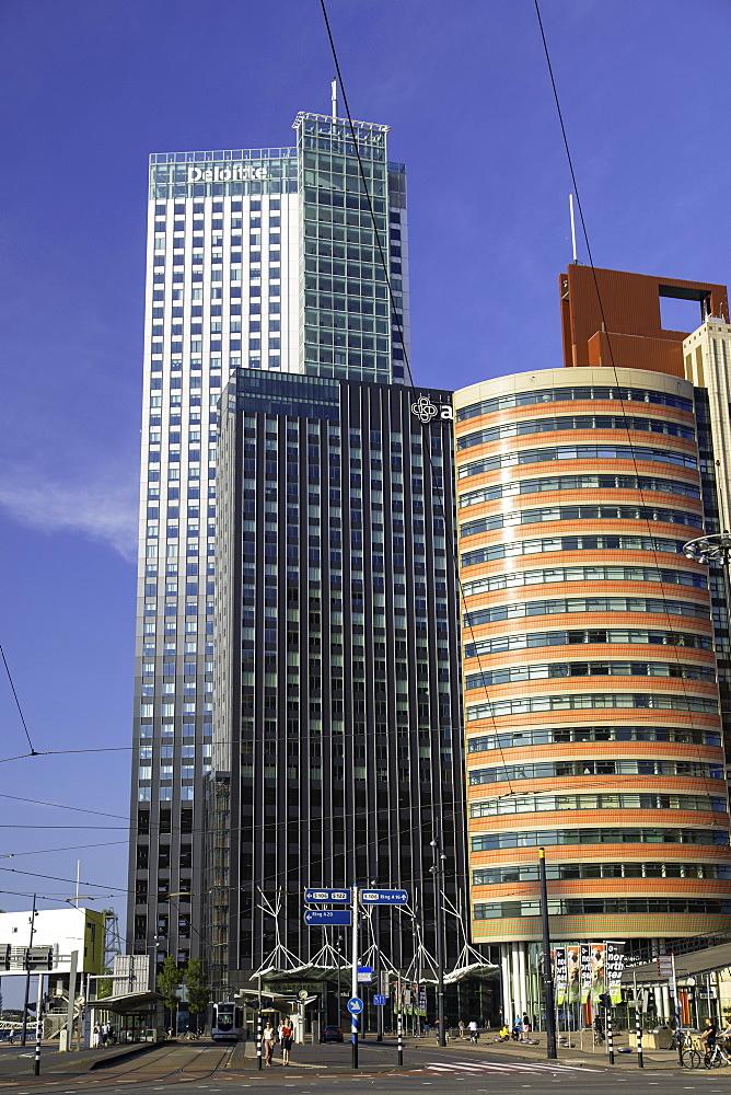 Maastoren building, Rotterdam, Zuid Holland, Netherlands, Europe