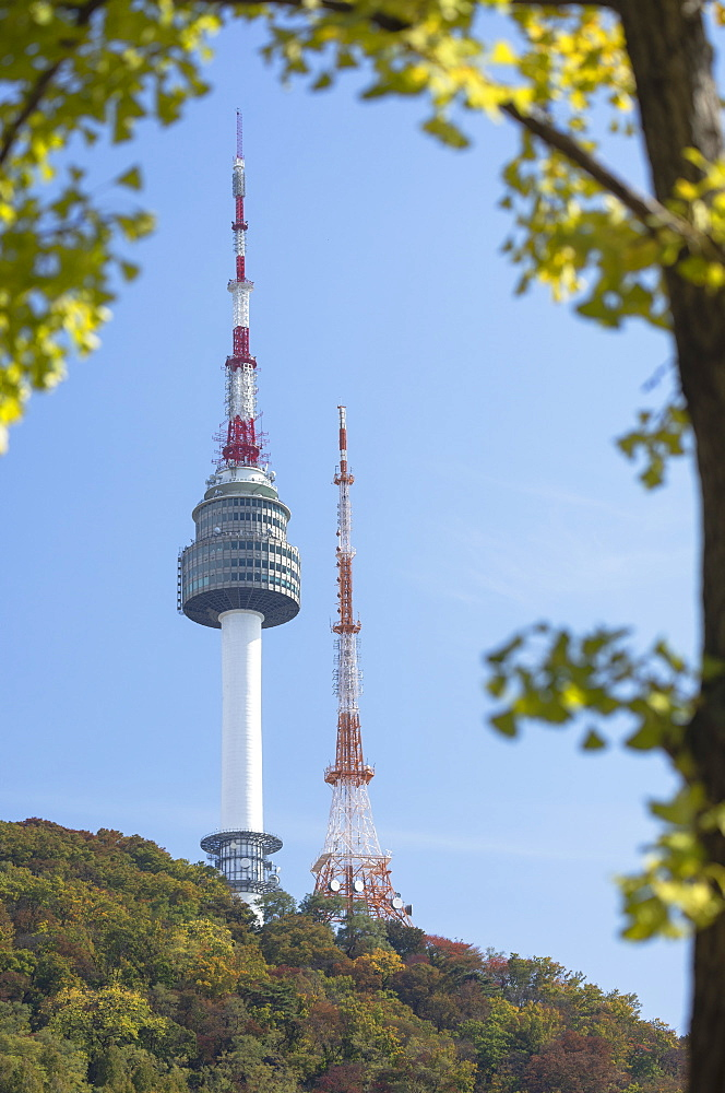 Seoul Tower, Seoul, South Korea, Asia
