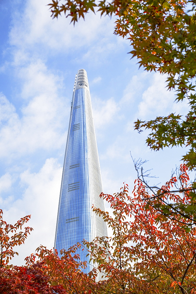 Lotte World Tower, Seoul, South Korea, Asia