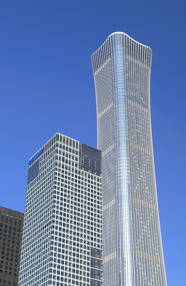CITIC Tower, the tallest skyscraper in Beijing in 2020, Beijing, China, Asia - 800-3915