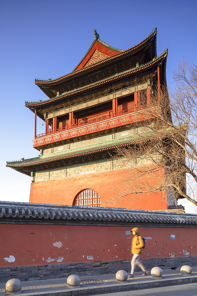 Drum Tower, Dongcheng, Beijing, China, Asia - 800-3920