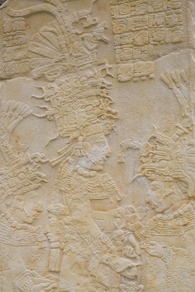 Stela 2, Bonampak Archaeological Zone, Chiapas, Mexico, North America