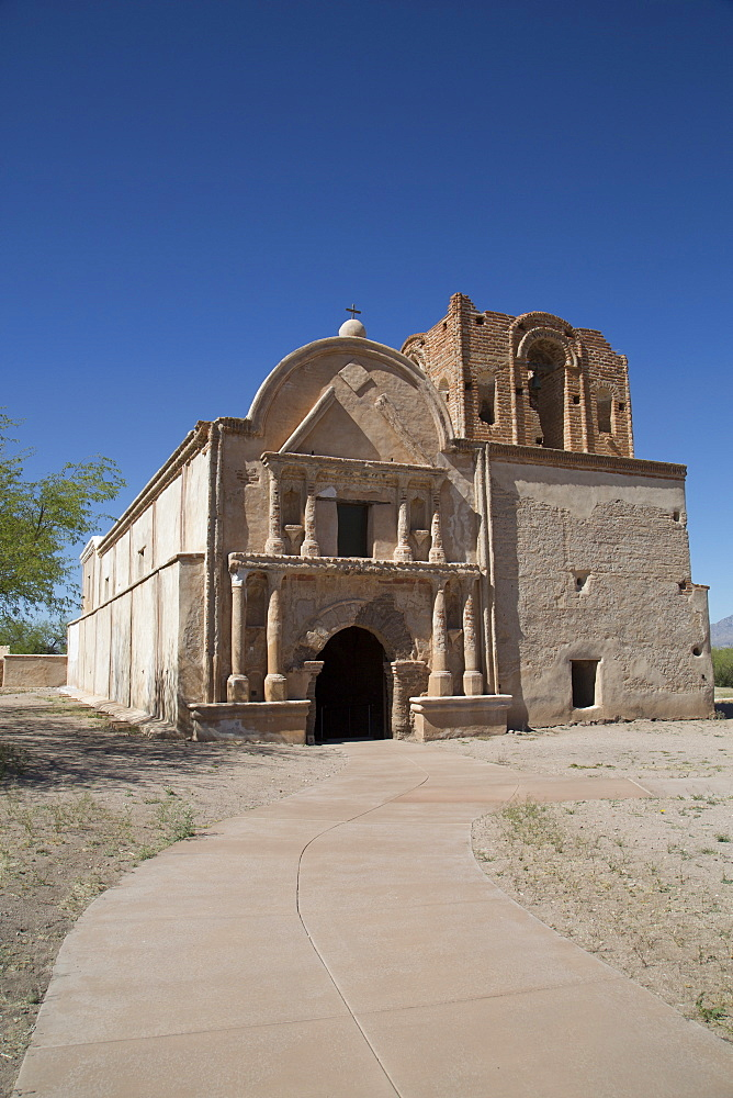 San Jose de Tumacacori Mission, established in 1691, Tumacacori National Historic Park, New Mexico, United States of America, North America