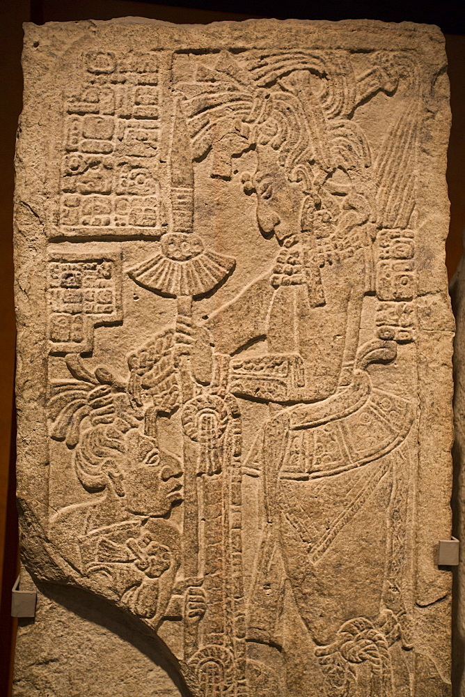 Stela 15 from Yaxchilan, National Museum of Anthropology, Mexico City, Mexico, North America