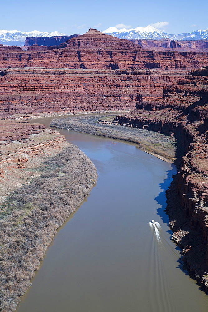 Colorado River, Canyonlands National Park, Utah, United States of America, North America