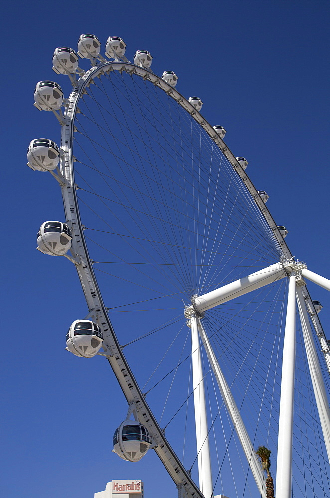 The High Roller, 550 feet tall, the world's largest observation wheel, Las Vegas, Nevada, United States of America, North America