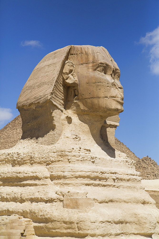 Sphinx, The Giza Pyramids, UNESCO World Heritage Site, Giza, Egypt, North Africa, Africa