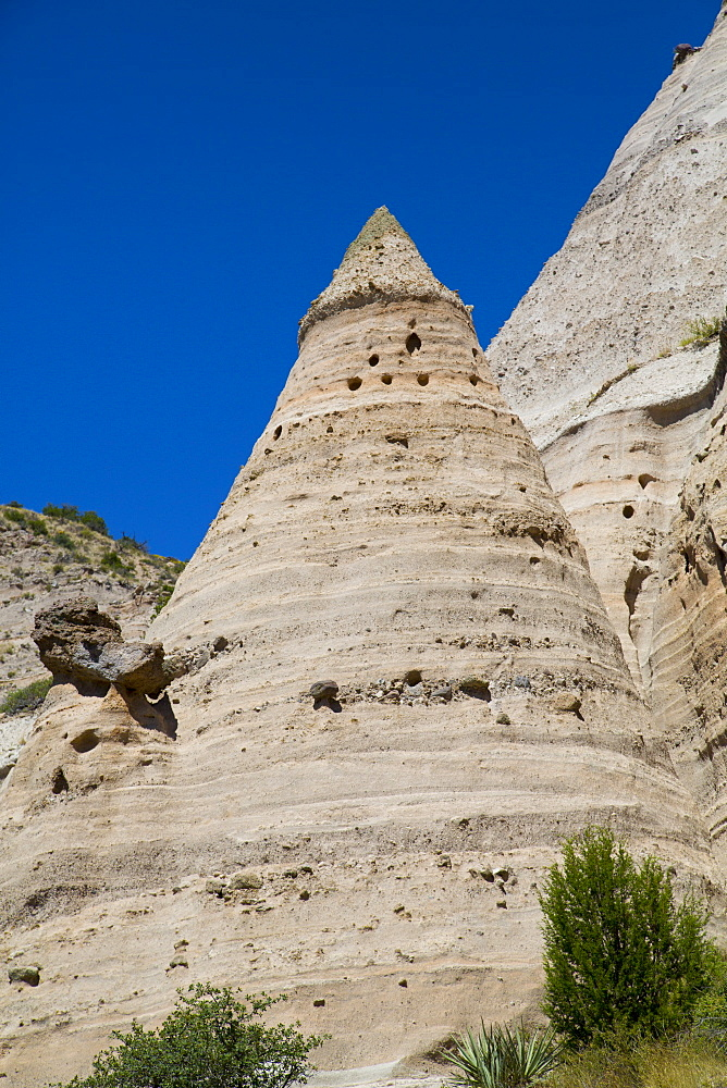 Kasha-Katuwe Tent Rocks National Monument, New Mexico, United States of America, North America