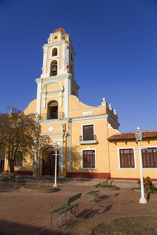 Iglesia y Convento de San Francisco, Trinidad, UNESCO World Heritage Site, Sancti Spiritus, Cuba, West Indies, Central America