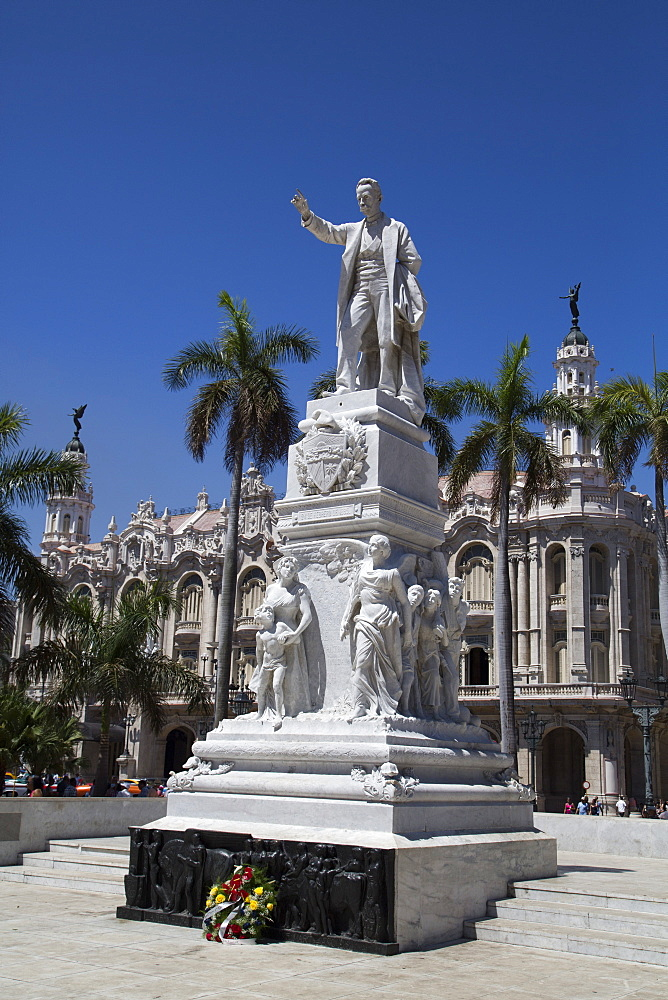 Statue of Joe Marti, Centro Habana, Havana, Cuba, West Indies, Central America