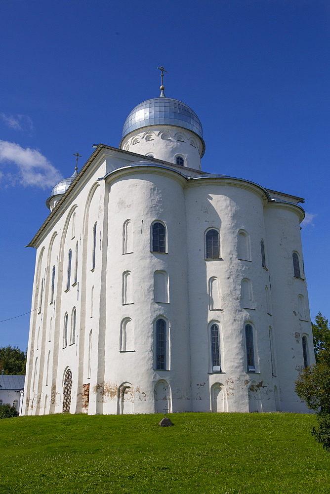 St. George Cathedral, Yuriev Monastery, UNESCO World Heritage Site, Veliky Novgorod, Novgorod Oblast, Russia, Europe