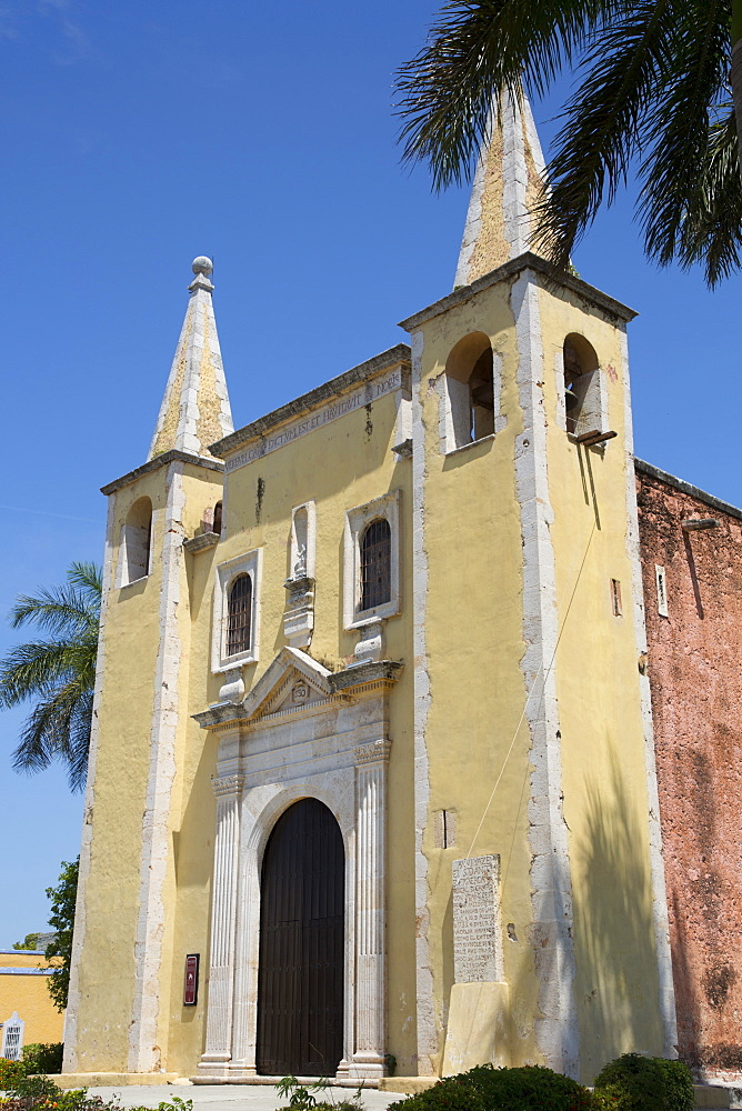Church of Santa Ana, founded 1500s, Merida, Yucatan, Mexico, North America