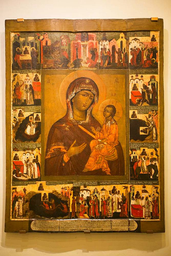 Icons, Kremlin Museum, Rostov Veliky, Golden Ring, Yaroslavl Oblast, Russia, Europe - 801-2328