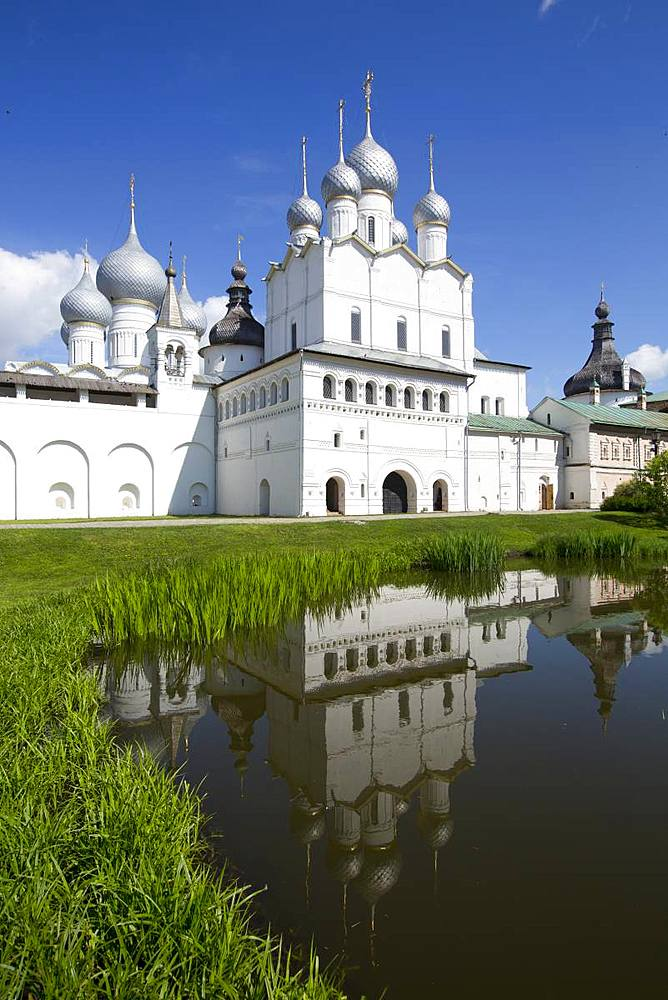 Resurrection of Christ Gate Church, Kremlin, Rostov Veliky, Golden Ring, Yaroslavl Oblast, Russia, Europe - 801-2331