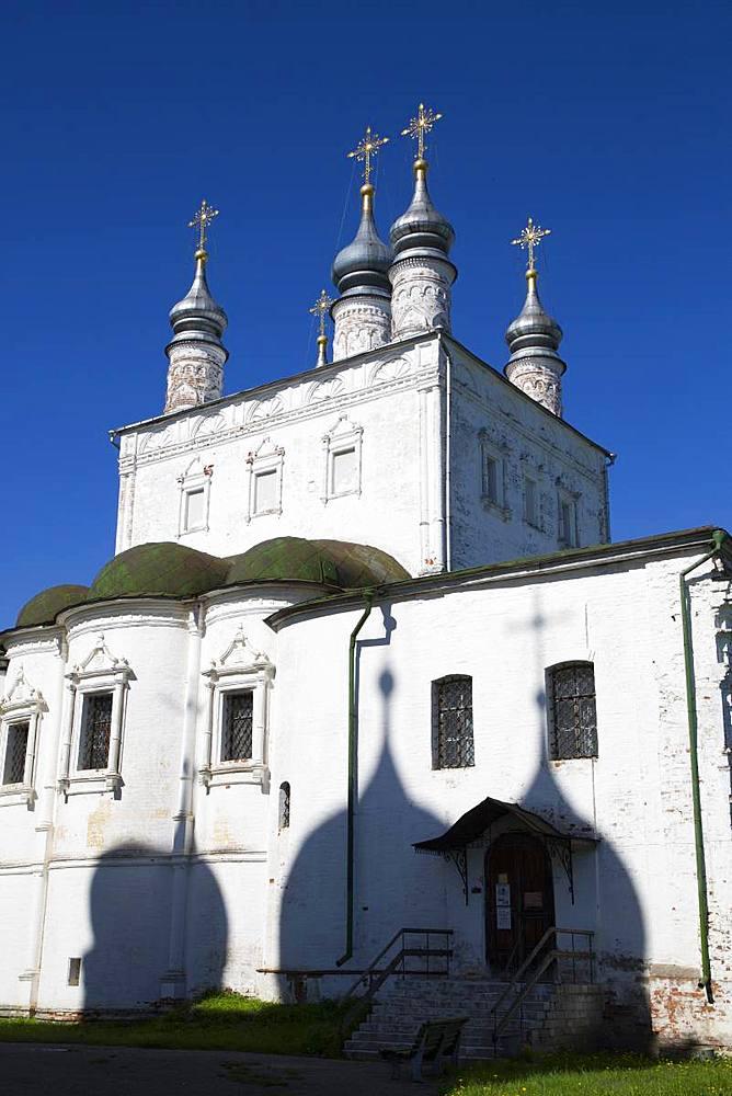 Church of All Saints, Goritsky Dormition Monastery, Pereslavl-Zalessky, Golden Ring, Yaroslavl Oblast, Russia, Europe - 801-2355