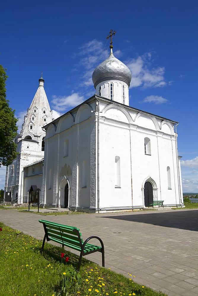 Holy Trinity Danilov Monastery, Pereslavl-Zalessky, Golden Circle, Yaroslavl Oblast, Russia, Europe - 801-2357