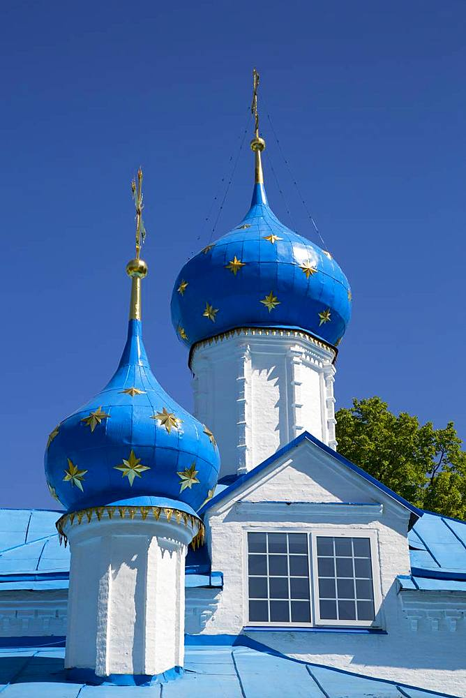 Entry Church of the Theotokos, Feodorosky Convent, Pereslavl-Zalessky, Golden Circle, Yaroslavl Oblast, Russia, Europe