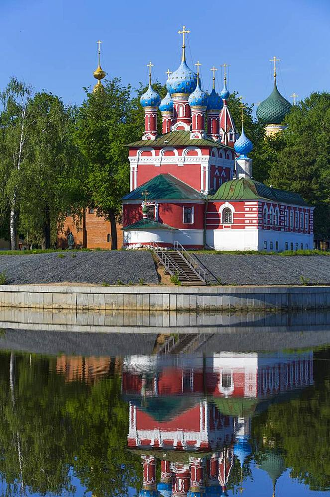 Church of Prince Demitry the Martyr, Uglich, Golden Ring, Yaroslavl Oblast, Russia, Europe - 801-2360