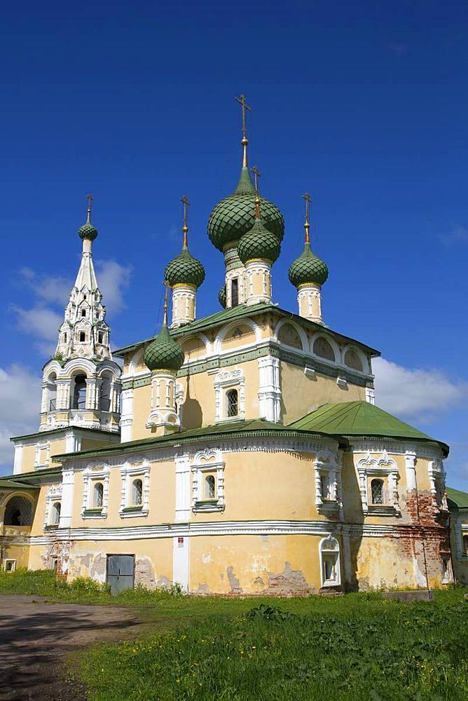 Rozhdestva Ioanna Predtechi Church, Uglich, Golden Ring, Yaroslavl Oblast, Russia, Europe - 801-2367