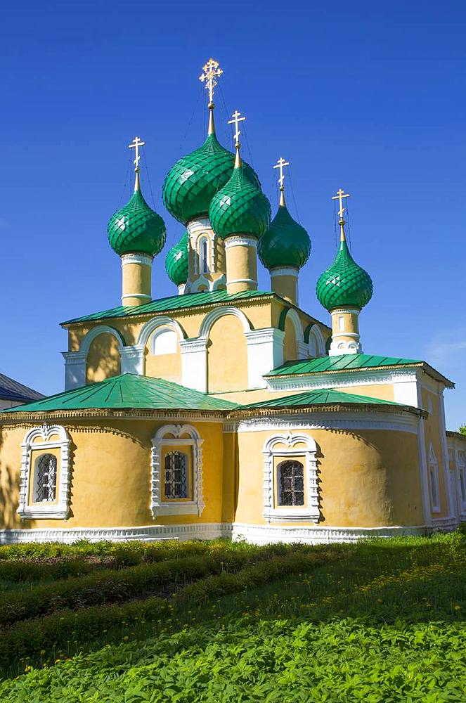 Church of John the Baptist, Alexey Monastery, Uglich, Golden Ring, Yaroslavl Oblast, Russia, Europe